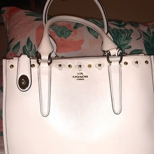 Brand new Coach shoulder bag with crossbody straps